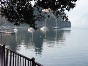 Lake Como from the Passerella