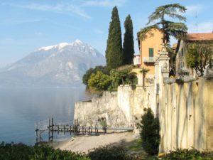 Lake Como from Villa Cipressi.