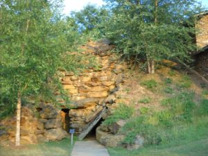 Replica of the Cave of Faith-Valdese, N.C.