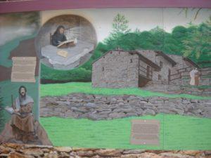 Mural, Valdese, N.C. tells the Waldensian Story